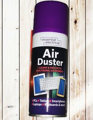 Compressed Air Duster Spray Can Cleans Protects Laptops Keyboards  200ml  • 4.99£