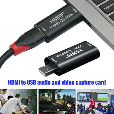 HDMI Video Capture Card USB 2.0 1080p HD Recorder For Game/Video Live Streami QP • 8.06£