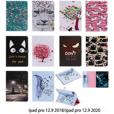 Wallet Case For IPad Pro 12.9 2020 /2018 Tablet Cute PU Leather Flip Stand Cover • 12.78£