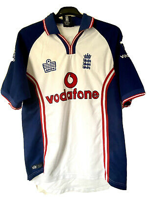 England One Day Cricket Shirt (2000) • 5£