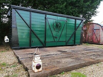 Shepherds Hut Glamping Summer House Office Log Cabin Railway Carriage 1930's  • 20,000£