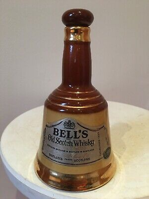 Collectible Bells Old Scotch Whisky Decanter Bell Made By Wade Vintage Scotland • 6£