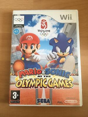 Mario & Sonic At The Olympic Games Nintendo Wii PAL • 7.50£