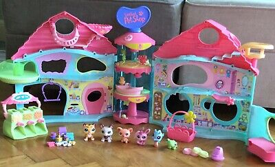 Hasbro Littlest Pet Shop Bundle Perfect Condition Including Treehouse & Hospital • 5.90£
