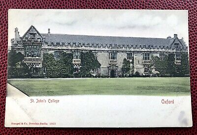 St John's College Oxford Oxfordshire Post Card  • 2.50£