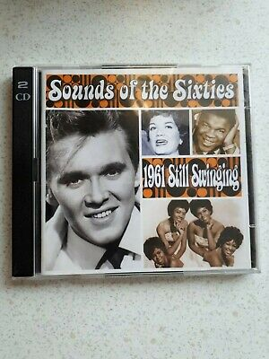 TIMELIFE - SOUNDS OF THE SIXTIES - 1961 - STILL SWINGING Cdx2 • 9.99£