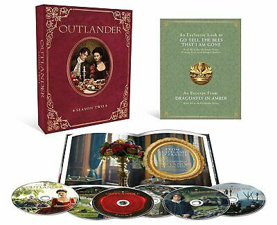AU36.51 • Buy OUTLANDER Season 2 Collector's Edition Blu-Ray  NEW FREE SHIPPING