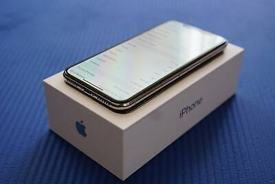 AU600 • Buy IPhone X 64GB Excellent Condition Unlocked Silver/White