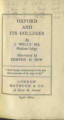 METHUEN + CO LITTLE GUIDE TO OXFORD AND ITS COLLEGES Published Date Unknown • 4.99£