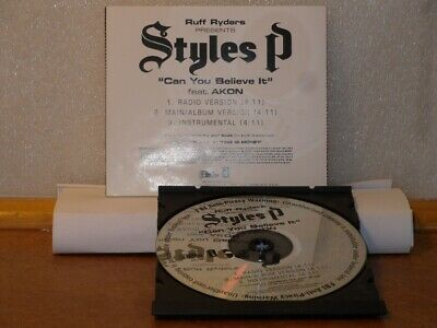 £5.66 • Buy Styles P -  Can You Believe It Promotional ONLY CD Single ** Free Shipping**