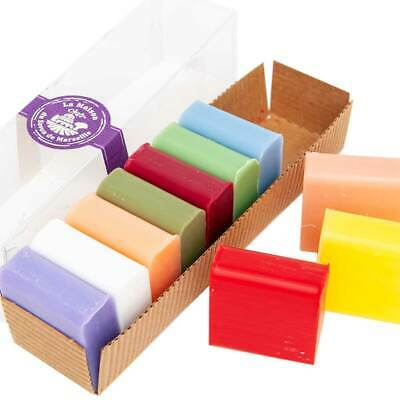 French Soaps - 10 X 30g Shea Butter Fragrances - Gift Pack - Savon De Marseille • 7.95£
