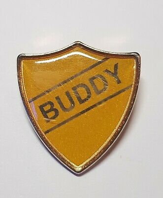 Modern Style School Badge Buddy Stag Do Gift • 2.99£