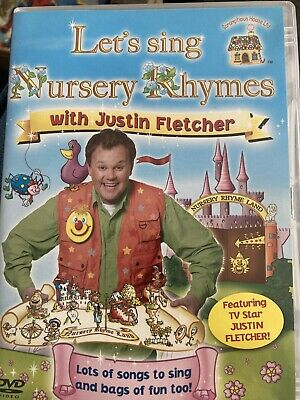 Let's Sing Nursery Rhymes With Justin Fletcher (DVD, 2011) • 0.99£