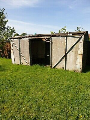 Shepherds Hut Glamping Summer House Log Cabin Railway Carriage 1930 Project  • 800£