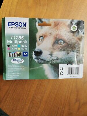 Epson Stylus Printer Ink T1285 4 Colour Multipack • 31£