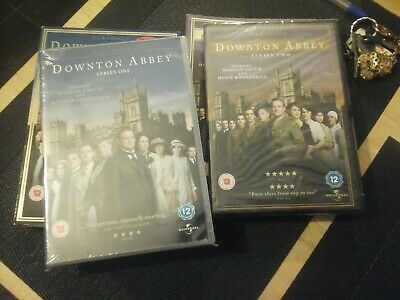 DVD DOWNTOWN ABBEY THE COMPLETE SERIES  ONE &TWO WITH BONUS MATERIAL NEW Sealed. • 9.99£
