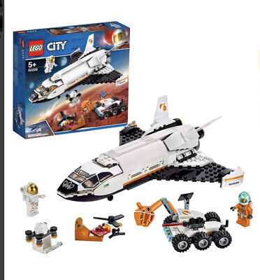 LEGO City Mars Research Shuttle Space Toy 60226 • 22.99£