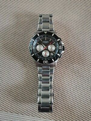 Mens Rotary Watch -  Stainless Steel - Chronospeed • 34.99£