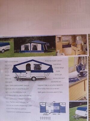 Pennine Stirling Trailer Tent 6 Berth 2004 - Good Condition • 2,100£