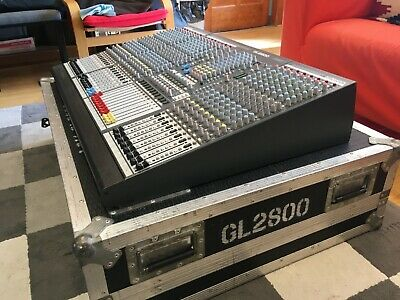 Allen & Heath GL2800 24 Channel Professional Mixing Console With Flightcase • 450£