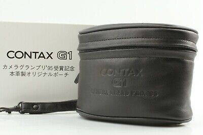 $ CDN68.93 • Buy 【BRAND NEW】CONTAX G1 Camera Grand Prix 95 Genuine Leather Lens Case Japan #3002