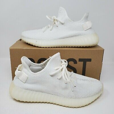 $ CDN326.17 • Buy VNDS Adidas YEEZY BOOST 350 V2 Cream Triple White Size 8.5 CP9366 Kanye West