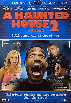 A Haunted House 2 [Blu-ray DVD 1080p HD, 2014, ALL REGIONS] BRAND NEW AND SEALED • 6.01£