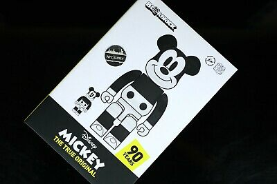 $1078.99 • Buy BearBrick Disney Mickey Fragment Design 100% & 400% Set Medicom Toy - NEW