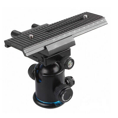 £13.81 • Buy Mount Camera Accessories Macro Focusing Multifunctional Stabilizer Tripod Head
