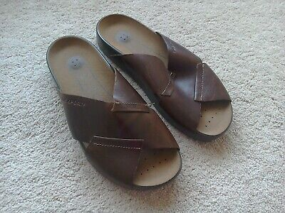 Mens Rockport Leather Sandals Sx 7 Tried On Once • 7.99£