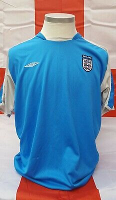 England Football Umbro Training Top In Blue Xl • 12£