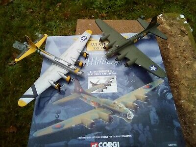 Corgi  AA31101 Die Cast Boeing B-17G Fortress 3  1:144 (3) ++ Awesome Group • 14.90£