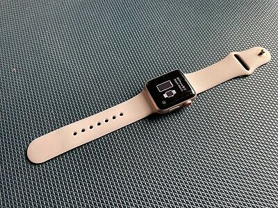 $ CDN165.18 • Buy Apple Watch Series 3 - 38mm Rose Gold With Pink Sand Sport Band (GPS + Cellular)