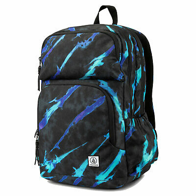 AU77.08 • Buy Volcom Men's Roamer Backpack Bag Tie Dye Black Accessories School Travel Good