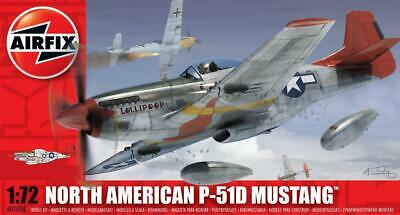Airfix A01004 P-51D Mustang (1:72 Scale) • 7.45£