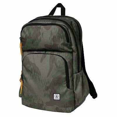 AU73.40 • Buy Volcom Men's Roamer Backpack Bag Camouflage Green School Travel Accessories G