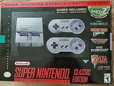 $ CDN111 • Buy Super Nintendo Entertainment System SNES Classic Edition