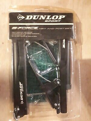 AU25 • Buy Dunlop Sport - Table Tennis Net And Post Set *NEW