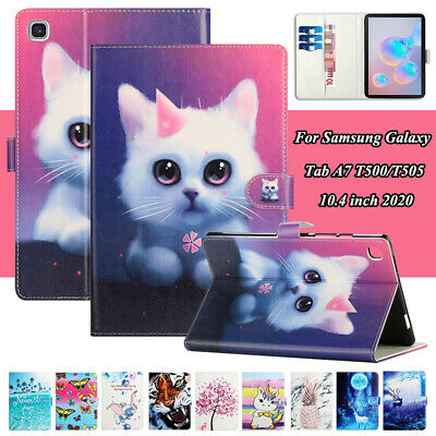 Tablet Case For Samsung Galaxy Tab A7 T500 T505 10.4 Inch 2020 Wallet Flip Cover • 13.57£