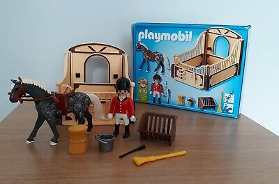 Playmobil Set 5110 Country Show Horse With Stall • 3£