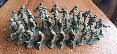Airfix British Infantry WWII 1/32 Scale Toy Soldiers 29 Figures. • 9.99£