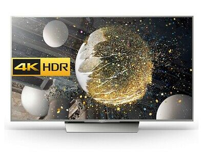 Sony Bravia 55XD8577 55  SMART 4K Ultra HD HDR LED TV Youview Silver C Grade • 499.99£
