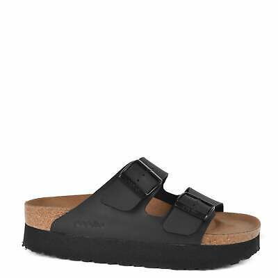 Birkenstock Arizona Papillio Black Vegan Platform Sandals • 58.45£