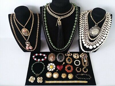 $ CDN14.03 • Buy Huge Vintage To Now Jewelry Lot Estate Find  All Wearable Pieces - SOME SIGNED