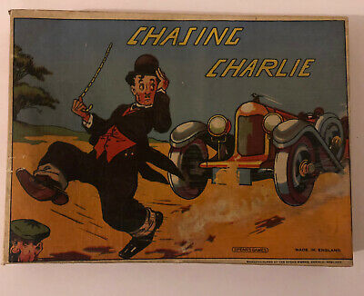 Chasing Charlie Vintage Board Game By Spears Games Made In England • 20£