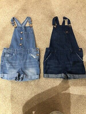 Girls Dungarees Age 10 • 5£