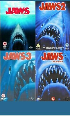 JAWS - Series 1-4 Complete Collection Part 1 2 3 4 Dennis Quaid, Ann New UK DVD • 19.95£