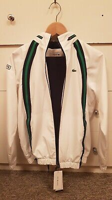 GENUINE Lacoste Sport Junior Tracksuit Kit With Bottoms BRAND NEW (RRP £221) 14Y • 160£