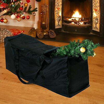 Extra Large Waterproof Christmas Tree Storage Bag Xmas Festive Zip Up Organiser • 10.99£