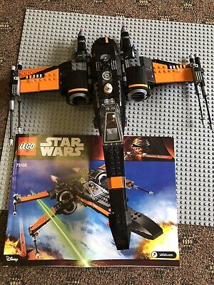 AU75 • Buy Lego Star Wars Set 75102, Poes X-wing Fighter Not Complete, No Box!